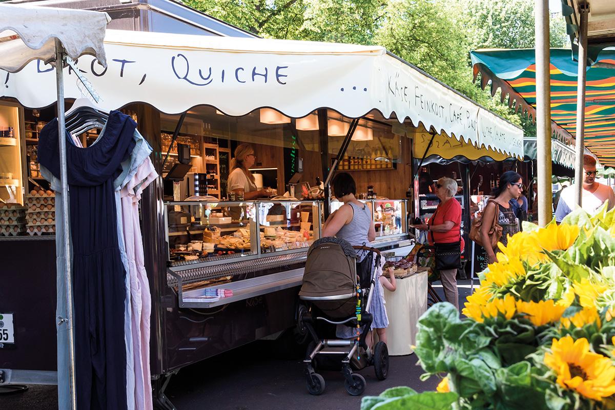 Wochenmarkt Köln Sülz
